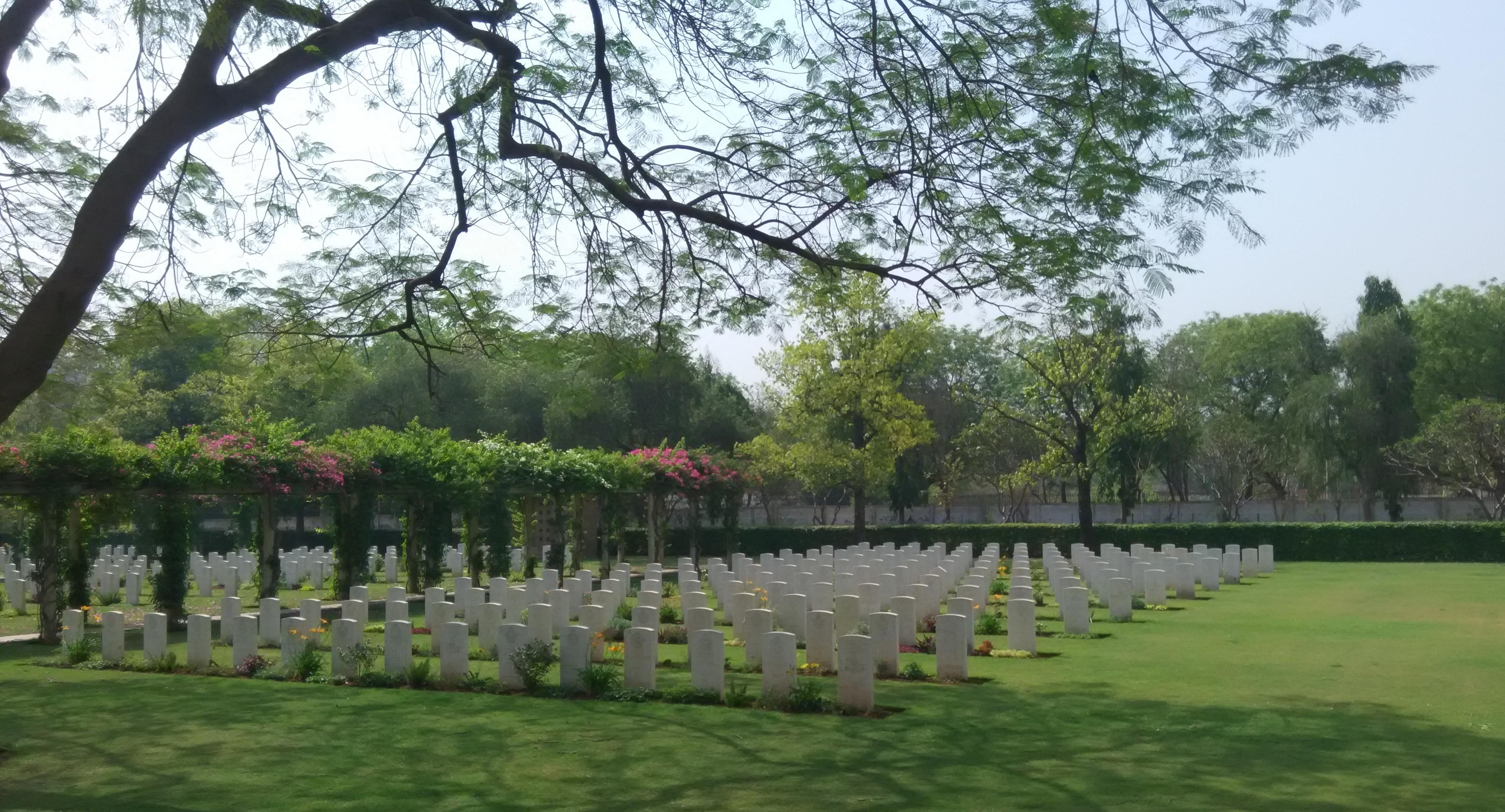 Delhi War Cemetery Divine Peace