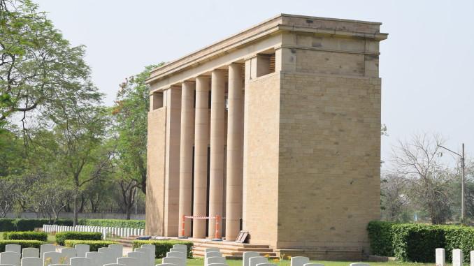 Delhi War Cemetery Gate