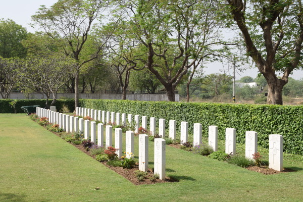 Delhi War Cemetery_Sleep forever