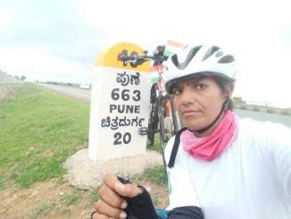 Sunita Singh Choken - On Solo Cycling Expedition