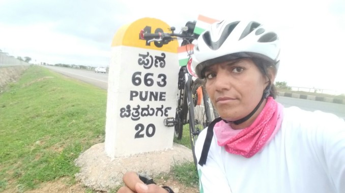 Sunita Singh Choken - On Solo Cycling Expedition