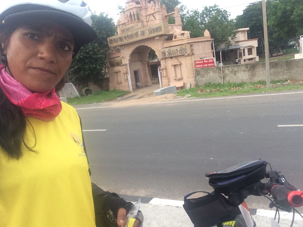 A Jain pilgrimage - on way of Solo Cycling Expedition