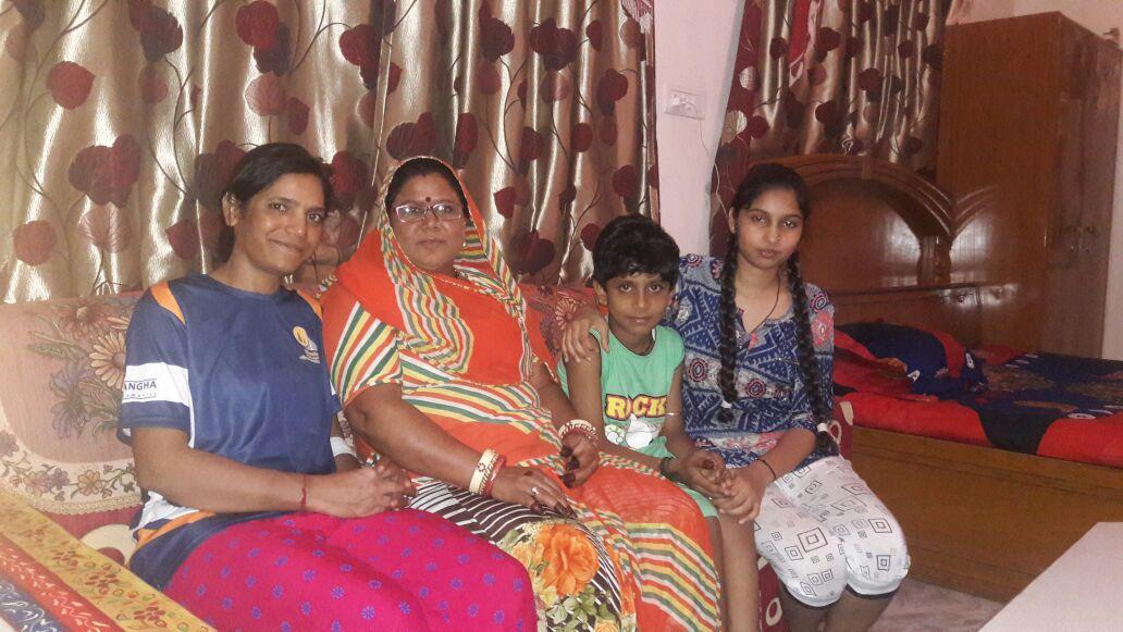 Bodhiraj bhaiyas mother and children