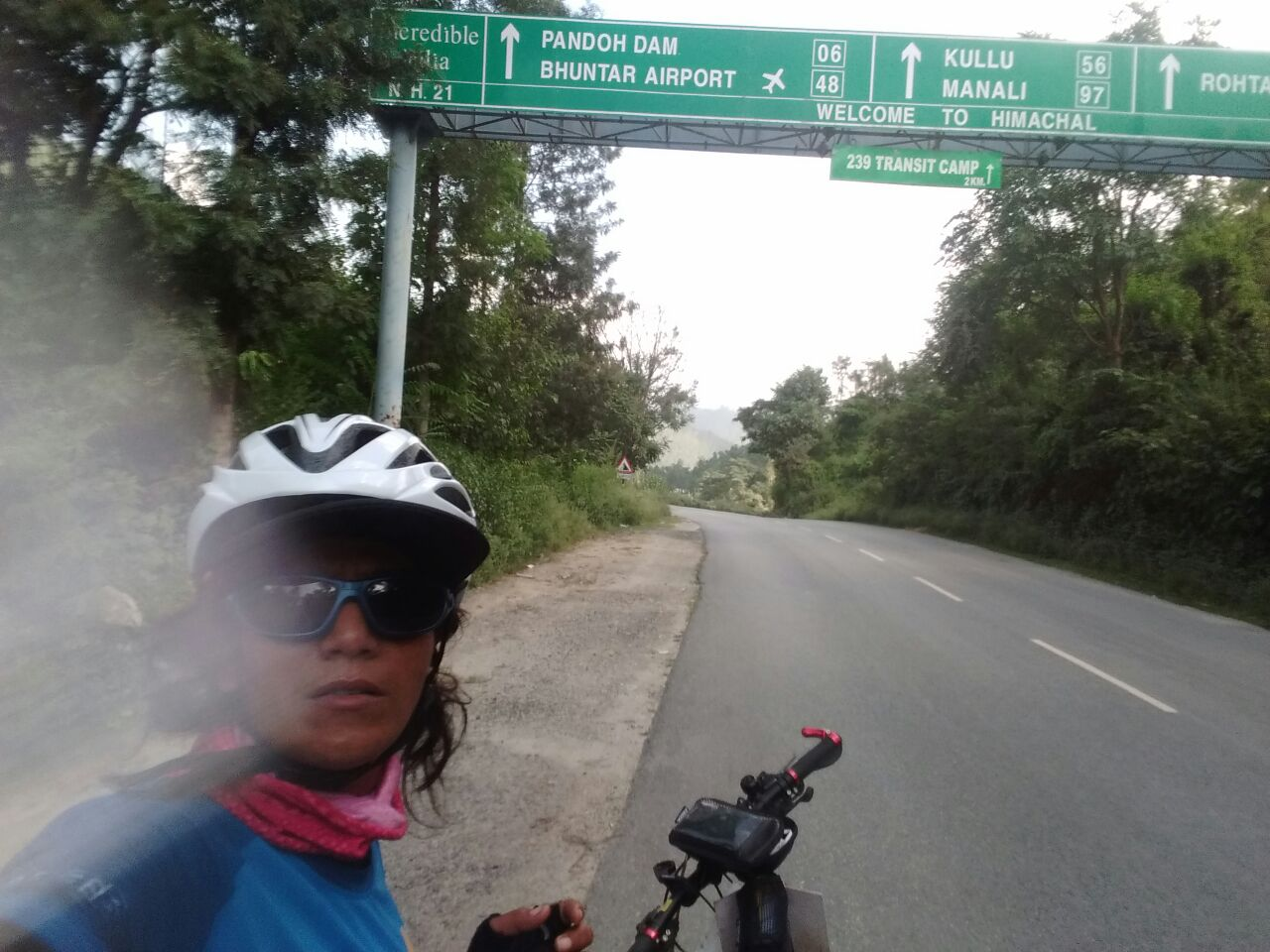 Solo Cycling Expedition - On the way