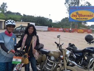 Everester Sunita Singh Choken - Solo Cycling Expedition