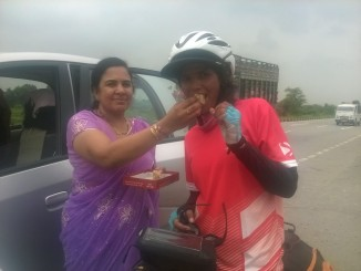 Sunita SIngh Choken on her Solo Cycling Expedition