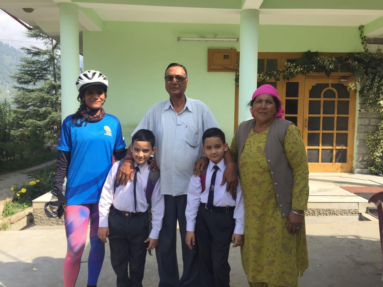 Sunita Singh Choken - Solo Cycling EXpedition