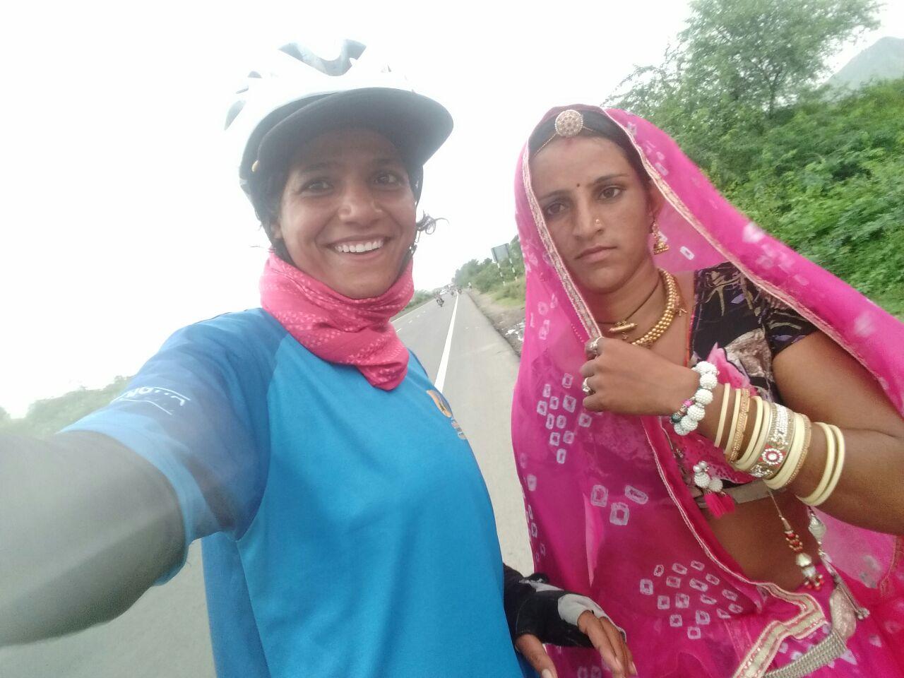 Sunita Singh Choken - Highway selfie
