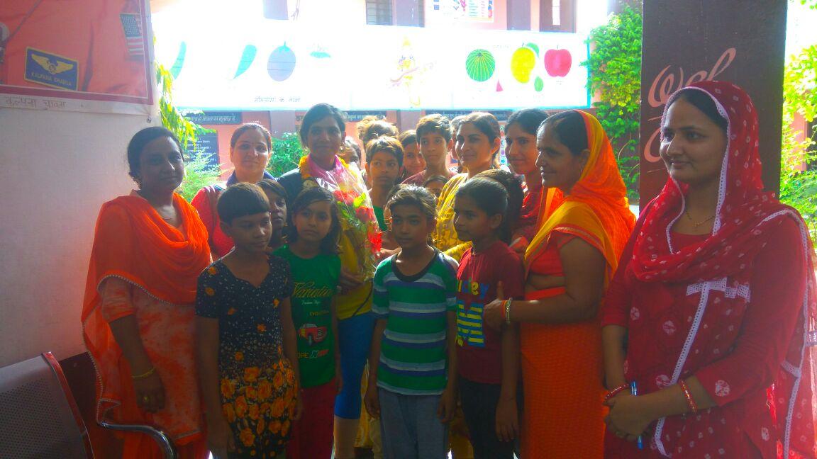 Sunita Singh Choken Inspiring young minds