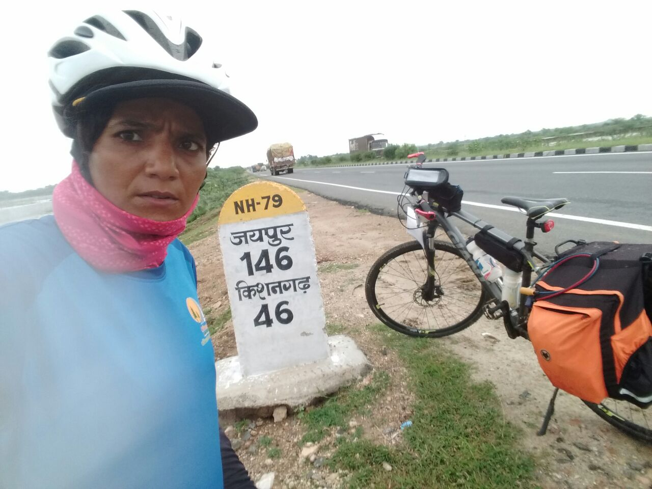 Nearing the destination - Solo Cycling Expedition