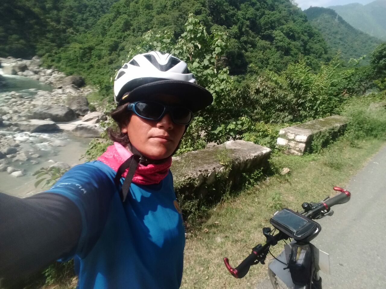 Picturesque valley Solo Cycling Expedition