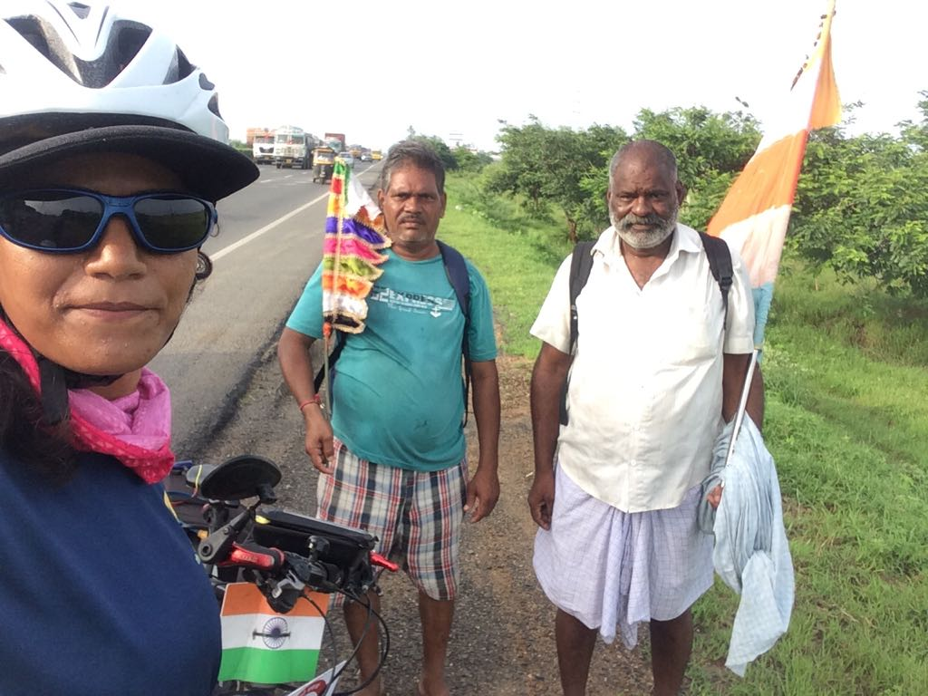 Pilgrims on the way - Solo Cycling Expedition