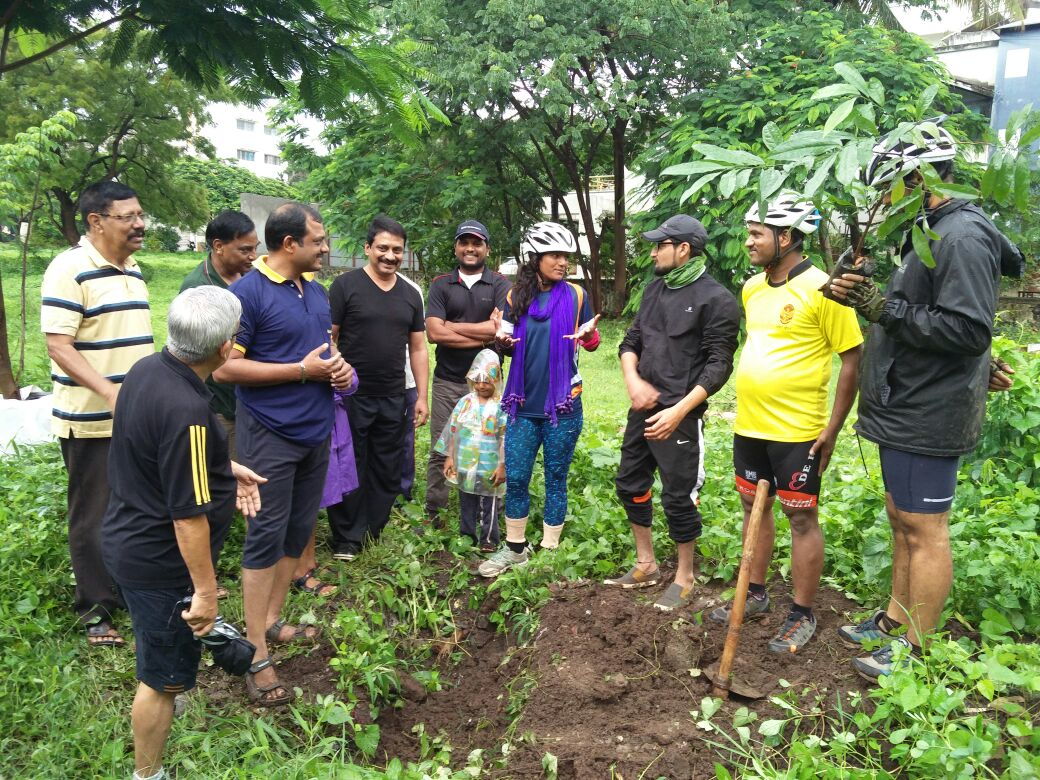 Sunita Singh Choken - Plantation at Satara