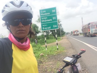 Vadodra to Shamaljee- Mega 230 kilometre ride
